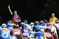 12th September 2021: Trento, Trentino–Alto Adige, Italy: UEC Road European Mens Elite Cycling Championships; A Norway team coach