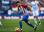 Yannick Ferreira Carrasco of Club Atletico de Madrid in action during their La Liga match between Club Atletico de Madrid and Malaga CF at the Estadio Vicente Calderón on 29 October 2016 in Madrid, Spain. Photo by Diego Gonzalez Souto / Power Sport Images