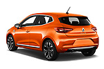 Car pictures of rear three quarter view of a 2020 Renault Clio Edition One 5 Door Hatchback angular rear