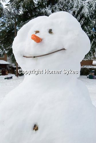 Snowman West Horsley Surrey UK