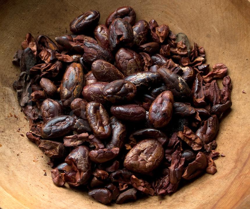 Fresh Roasted Cocoa Beans - Nibs
