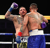 CARSON, CA - MAY 1: Andy Ruiz Jr. vs Chris Arreola on the Fox Sports PBC Pay-Per-View fight on May 1, 2021 at Dignity Health Sports Park in Carson, CA. (Photo by Frank Micelotta/Fox Sports/PictureGroup)