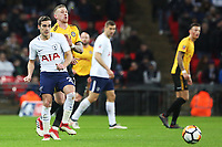 Harry Winks of Tottenham Hotspur during the Fly Emirates FA Cup Fourth Round Replay match between Tottenham Hotspur and Newport County at Wembley Stadium, London, England, UK. 07 February 2018