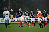 Geoff Cross of London Scottish Football Club during the Greene King IPA Championship match between London Scottish Football Club and Ealing Trailfinders at Richmond Athletic Ground, Richmond, United Kingdom on 26 December 2015. Photo by Alan  Stanford / PRiME Media Images