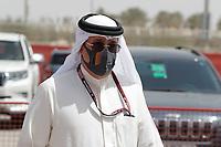 26th March 2021; Sakhir, Bahrain; F1 Grand Prix of Bahrain, Free Practice sessions;  SHAIKH MOHAMMEND DIN ESSA AL-KHALIFA  during Formula 1 Gulf Air Bahrain Grand Prix