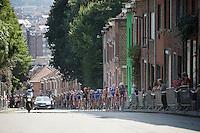 up the steep Wijnpersstraat (13 times)<br /> <br /> GP Jef Scherens 2015