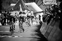 sprinting to the finish up the infamous Mur de Huy (1300m/9.8%)<br /> <br /> Women's Flèche Wallonne 2016