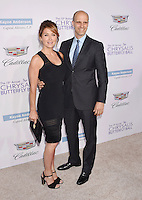 BRENTWOOD, CA - JUNE 11: Actress Sasha Alexander (L) and husband/director Edoardo Ponti arrive at the 15th Annual Chrysalis Butterfly Ball at a private residence on June 11, 2016 in Brentwood, California.