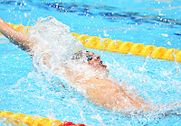 August 01, 2012..Ryan Lochte competes in Men's 200m Backstroke Semifinal at the Aquatics Center on day five of 2012 Olympic Games in London, United Kingdom.