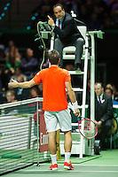 Rotterdam, The Netherlands, February 13, 2016,  ABNAMROWTT, Philipp Kohlschreiber (GER)<br /> Photo: Tennisimages/Henk Koster
