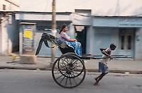 Rikscha, Kalkutta (Kolkata), Indien