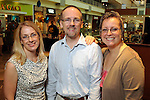 From left: Cassandra Alvarado with Jonathan and Jennifer Cobb at the University of Texas M.D. Anderson Cancer Center and The Galleria's Back to School Fashion Show benefitting pediatric cancer patients at The Galleria Saturday August 25,2012.(Dave Rossman Photo)