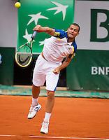 03-06-13, Tennis, France, Paris, Roland Garros,  Mikhail Youzhny