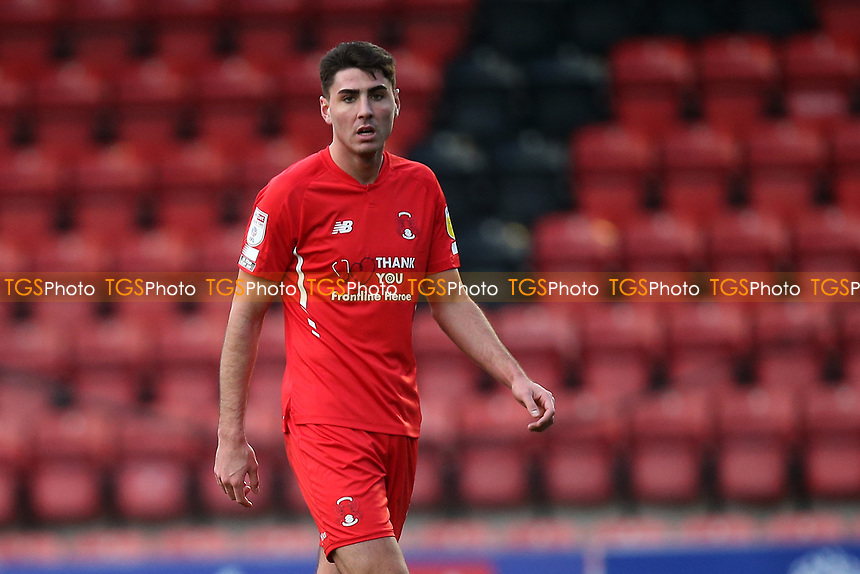 Dan Happe of Leyton Orient during Leyton Orient vs Salford City, Sky Bet EFL League 2 Football at The Breyer Group Stadium on 2nd January 2021