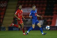 Joe Widdowson of Leyton Orient and Jack Muldoon of Harrogate Town during Leyton Orient vs Harrogate Town, Sky Bet EFL League 2 Football at The Breyer Group Stadium on 21st November 2020
