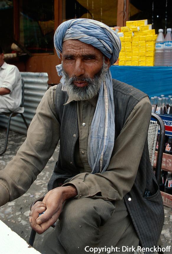 Kashmiri in Sonamarg (Kashmir), Indien
