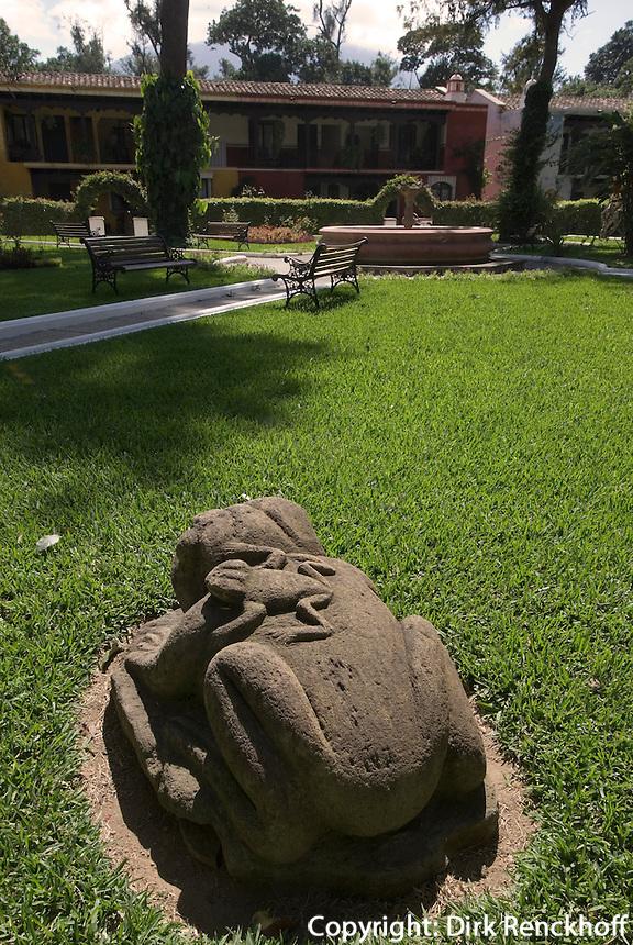 Guatemala, im Hotel Villa Colonial in Antigua, Unesco-Weltkulturerbe