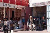 Cafe in Douz, Tunesien