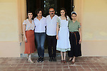 La llum d'Elna.<br /> Visita al rodaje.<br /> Natalia de Molina, Miriam Porte, Nicolas Garcia, Noemie Schmidt & Nausicaa Bonnin.