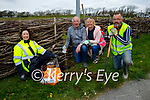 The volunteers of Spa Tidy Village Group planting new shrubs on Satturday morning in the village. L to r: Helen O'Brien, Tommy and Diane Flaherty and Kieran O'Callaghan