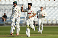 Shane Snater of Essex celebrates taking the wicket of Haseeb Hameed during Nottinghamshire CCC vs Essex CCC, LV Insurance County Championship Group 1 Cricket at Trent Bridge on 6th May 2021