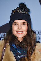 Sarah Ann Macklin<br /> at the launch of the Skate at Somerset House ice rink, London.<br /> <br /> ©Ash Knotek  D3199  16/11/2016
