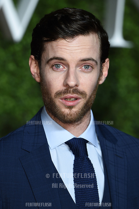 """LONDON, UK. November 13, 2019: Harry Treadaway arriving for """"The Crown"""" series 3 premiere at the Curzon Mayfair, London.<br /> Picture: Steve Vas/Featureflash"""