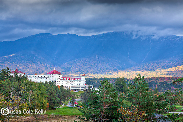 The Mount Washington Hotel in the White Mountain National Forest, NH, USA