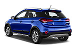 Car pictures of rear three quarter view of 2020 Hyundai i20-Active Active 5 Door Hatchback Angular Rear