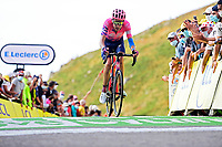 11th September 2020; Chatel-Guyon to Puy Marie Cantal, France;   CARTHY Hugh John (GBR) of EF PRO CYCLING during stage 13 of the 107th edition of the 2020 Tour de France cycling race, a stage of 191,5 km with start in Chatel-Guyon and finish in Puy Marie Cantal on September 11, 2020