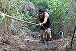 NELSON, NEW ZEALAND - AUGUST 20: Wairua Winter Warrior 2016 at Happy Valley Adventures, Nelson, New Zealand, August 20, 2016, Nelson, New Zealand. (Photo by: Barry Whitnall Shuttersport Limited)