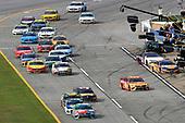 #18: Kyle Busch, Joe Gibbs Racing, Toyota Camry M&M's Hazelnut and #9: Chase Elliott, Hendrick Motorsports, Chevrolet Camaro NAPA Night Vision