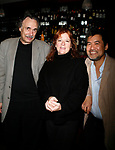 Arthur Kopit, Theresa Rebeck and David Henry Hwang attend An Evening with Theresa Rebeck, a dinner in honor of MAURITIUS playwright hosted by Lark Theatre / Lark Play Developement Center at Angus McIndoe Restaurant  in New York City. Ms. Rebeck is a playwright-in-residence and playwright advisor at the Lark Theatre Center<br />October 2, 2007