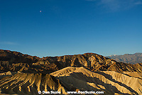 View from Zabriskie Point at sunrise, Death Valley National Park, California