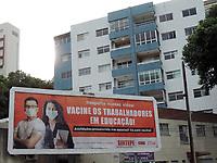 15/04/2021 - SINDICATO DOS PROFESSOS PROTESTAM EM RECIFE