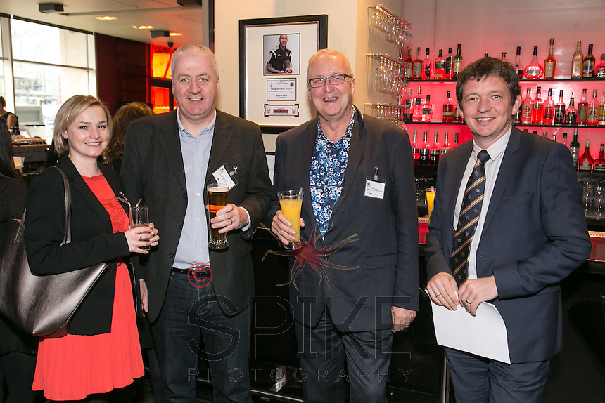 Pictured from left: Nikki Foreman, J Tomlinson, Paul McClure, Condor International Events, Councillor John Cottee, Notts County Council and Guy Gisborne, Snizle