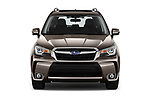 Car photography straight front view of a 2019 Subaru Forester Luxury 5 Door SUV