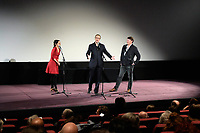 Avant premiere du film ' The Lost City of Z ' en presence de James Gray suivie d'une masterclass animee par Frederic Bonnaud - Cinematheque Francaise - 6 mars 2017 - Paris - France
