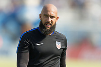 San Pedro Sula, Honduras - Tuesday September 05, 2017: Tim Howard during a 2017 FIFA World Cup Qualifying (WCQ) round match between the men's national teams of the United States (USA) and Honduras (HON) at Estadio Olímpico Metropolitano.