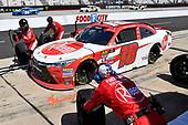 #18: Ryan Preece, Joe Gibbs Racing, Toyota Camry Rheem pits.