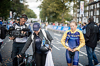 5th place finisher Wilma Olausson (SWE)<br /> <br /> post-race moments at the Women Junior Individual Time Trial<br /> <br /> 2019 Road World Championships Yorkshire (GBR)<br /> <br /> ©kramon