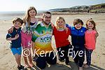 The Horgan family enjoying the beach in  Ballyheigue on Saturday, l to r: Eilish, Kieran, Michael, Elizabeth, Brian and Emily Horgan.