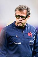26th March 2021, Stade de France, Saint-Denis, France; Guinness 6-Nations international rugby, France versus Scotland;  Fabien Galthie - trainer (Fra)
