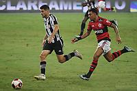 Rio de Janeiro (RJ), 24/03/2021 - Botafogo-Flamengo - Jogador do Botafogo,durante partida contra o Flamengo,válida pela 5ª rodada da Taça Guanabara,realizada no Estádio Nilton Santos (Engenhão), na zona norte do Rio de Janeiro,nesta quarta-feira (24).