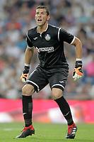 Getafe CF's David Soria during La Liga match. August 19,2018.  *** Local Caption *** © pixathlon<br /> Contact: +49-40-22 63 02 60 , info@pixathlon.de