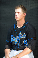 Sandra Day O'Connor Eagles third baseman Nolan Gorman (9) before a game against Mountain Ridge High School at Brazell Field at GCU on April 19, 2018 in Glendale, Arizona. Mountain Ridge defeated Sandra Day O'Connor 2-1. (Zachary Lucy/Four Seam Images)
