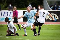 6th September 2020, Poissy,Paris, France; Football Friendly, Varietes Club de France versus Chi PSG;  Laurent Battles (Variete France ) - Marco Ferreira ( Chi PSG )