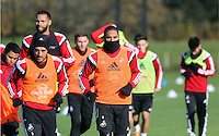 Pictured: Ashley Williams Wednesday 05 November 2014<br />