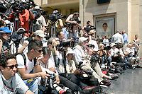 Photographers.Matt Damon  receives Star on the Hollywood Walk of Fame .Los Angeles, CA.July 25, 2007.©2007 Kathy Hutchins / Hutchins Photo....