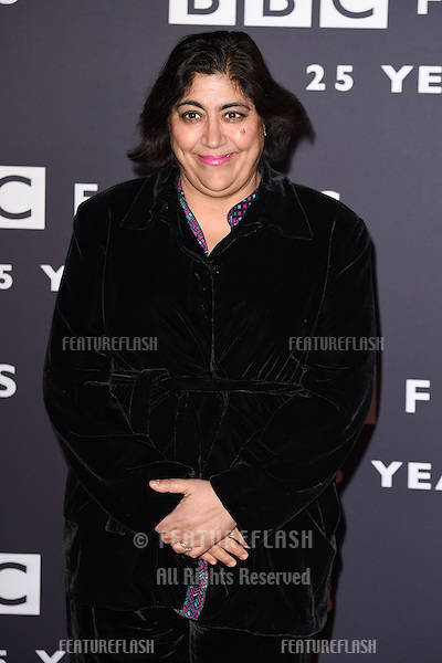 Gurinder Chada arrives for the BBC Films' 25th Anniversary Reception at Radio Theatre, New Broadcasting House, London. 27/03/2015 Picture by: Steve Vas / Featureflash
